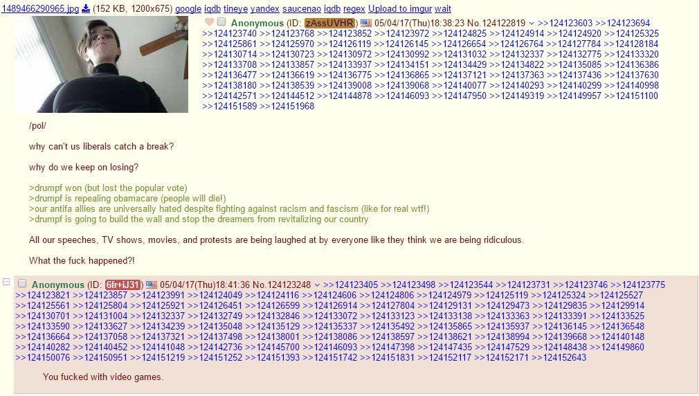 4chan post
